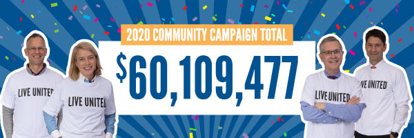 United Way Campaign Total Raised
